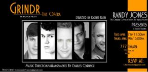 BWW Exclusive: Staged Readings of GRINDR The Opera to be Held Next Month in NYC