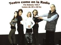 Flavia Vitale and Fernando Villanueva Set for TEATRO COMO EN LA RADIO, Nov 12
