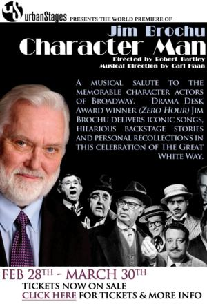 Urban Stages' CHARACTER MAN to Host Wednesday Post-Show Talks, Beg. 3/12