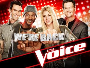 NBC's THE VOICE is #1 Show by 38% Margin