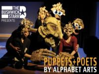 Alphabet Art's PUPPETS+POETS Set for 12/6-9