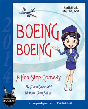 Wetumpka Depot Players Open BOEING BOEING Tonight