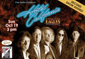 King Center Adds 2nd Performance of HOTEL CALIFORNIA, 10/19