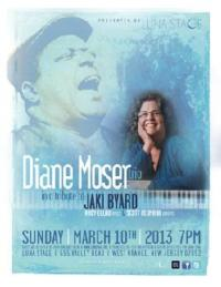 Diane Moser Trio to Tribute Jaki Byard for Luna Stage's Music in the Moonlight Series, 3/10