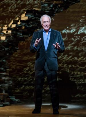 Christopher Plummer to Bring A WORD OR TWO to Ahmanson Theatre; Opens 1/22