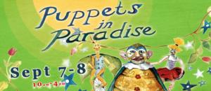 Sandglass Theater Presents PUPPETS IN PARADISE This Weekend