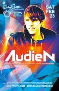 Ruby Skye to Present Trance Music Favorite Audien, 2/23