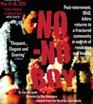 Pan Asian Rep Presents NO NO BOY, Now thru 5/18
