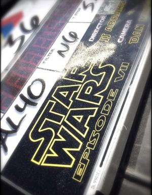 JJ Abrams Tweets First Photo from the Set of STAR WARS: EPISODE VII