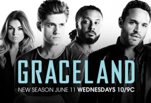 Nestor Serrano & Brit Morgan Join Cast of USA's GRACELAND; Series Returns Tonight