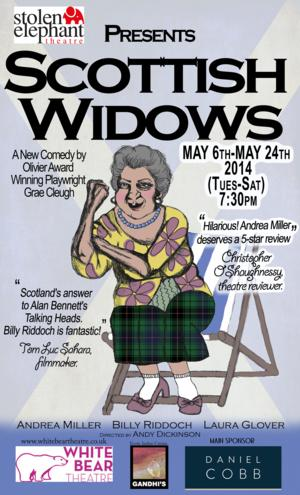 World Premiere of Grae Cleugh's SCOTTISH WINDOWS Set for White Bear Theatre, Begin. 6 May