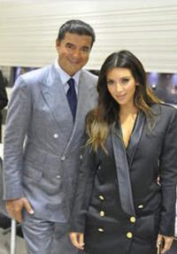 Kim Kardashian Celebrates With Jacob of Jacob & Co.