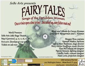 FAIRY TALES, SONGS OF THE DANDELION WOMAN to Run 5/8-16 at Little Stage Theater