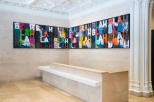 New Mel Bochner Painting Installed in Jewish Museum's Lobby