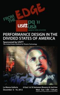 La MaMa La Galleria to Exhibit  'From the Edge:  Performance Design in the Divided States of America'