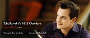 Guest Flutist Emmanuel Pahud to Perform Mozart and More with Utah Symphony, 9/20-21