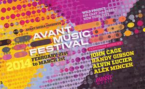 2014 Avant Music Festival, SOMETHING CLOUDY, SOMETHING CLEAR and More Set for The Wild Project, Now thru April 2014