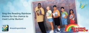 Smule Teams with READING RAINBOW's LeVar Burton for Theme Song Competition