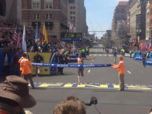 BOSTON MARATHON Results! - Meb Keflezighi Becomes First American Winner Since 1983