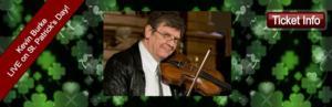 Historic North Theatre Goes Green; Presents Irish Fiddler Michael Burke, 3/17