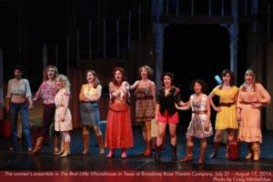 BWW Reviews: THE BEST LITTLE WHOREHOUSE IN TEXAS Is Innocent Dirty Fun at Broadway Rose