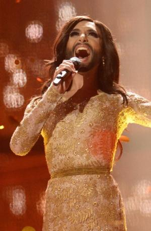 Bearded Drag Queen Wins The Eurovision Song Contest
