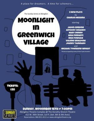Sunday Series at Abingdon to Present MOONLIGHT IN GREENWICH VILLAGE, 11/16