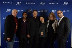 Michael Buble & Delta Air Lines Celebrate Airline Expansion
