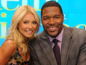 LIVE WITH KELLY AND MICHAEL Beats 'Ellen'