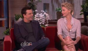 Seth MacFarlane, Charlize Theron Talk New Film on Today's ELLEN