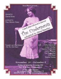 THE UNDERPANTS Debuts at Town Players Tonight, 11/16