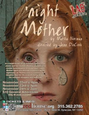 Redhouse LAB Series Present 'NIGHT MOTHER, 11/22-24