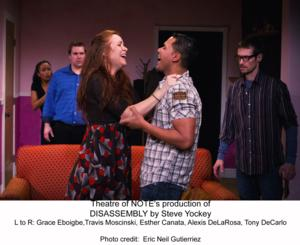 Theatre of Note Adds Two More Performances of DISASSEMBLY, Now Through 3/29