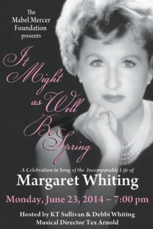 Mabel Mercer Foundation Hosts Margaret Whiting Tribute at Weill Recital Hall Tonight