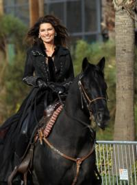 Shania Twain's Horse Stampede Ushers In Her Arrival To The Colosseum At Caesars Palace