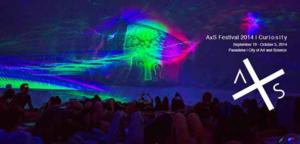 AxS Festival 2014 to Mix Art and Science in Pasadena, 9/19-10/5