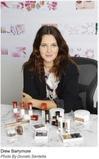 Drew Barrymore Launching Cosmetic Line Flower