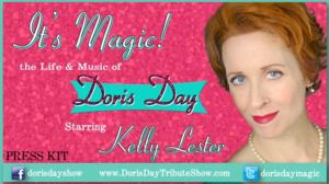 Kelly Lester to Bring IT'S MAGIC - THE LIFE & MUSIC OF DORIS DAY to Rockwell Table & Stage, 4/27