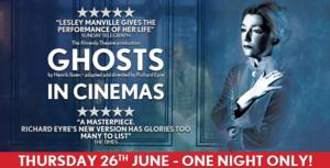Richard Eyre's GHOSTS to Continue West End Theatre Series at Cinemas Across the UK and Ireland, June 26