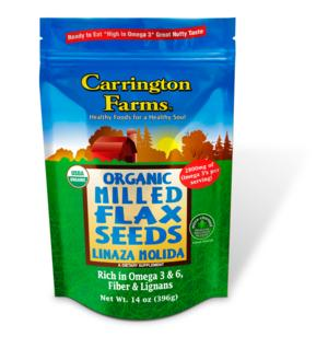 FIT FOOD FINDS: Flax Seed from Carrington Farms, Incredible Health Benefits