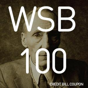 WSB 100 to Celebrate William S. Burroughs at Incubator Arts Project, 4/22-27