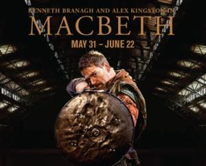 Immersive Production of MACBETH Starring Kenneth Branagh Begins Today