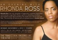 The Triad Welcomes Rhonda Ross, 11/5