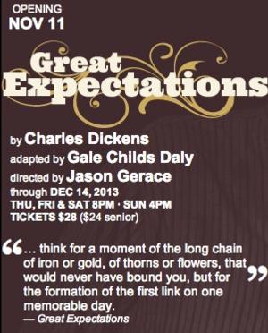 Strawdog Theatre to Open New Adaptation of GREAT EXPECTATIONS, 11/11