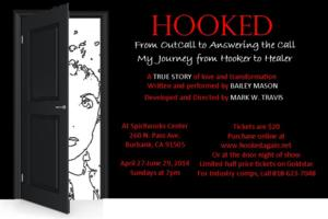FIRST LOOK: Bailey Mason Journeys From Sex Worker to Healer in HOOKED, Opening 4/27
