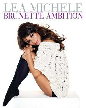 Lea Michele Set for 'Brunette Ambition' Book Signings in New York & Los Angeles Next Week