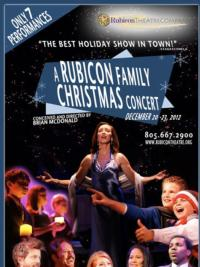 A RUBICON FAMILY CHRISTMAS CONCERT Set for 12/20-23
