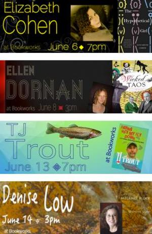 This Week at Bookworks Includes Elizabeth Cohen, Ellen Dornan and More