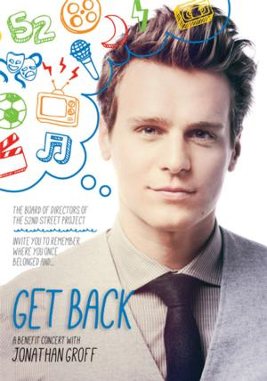 Jonathan Groff Brings GET BACK Benefit Concert to Five Angels Theater Tonight