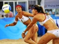 U.S. Beach Volleyball Teams Battle for Gold on Tonight's OLYMPICS Coverage